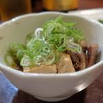 炭火焼 みや澤 - 肉豆腐?