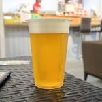 アロハ フードホール ショウギ - 生ビール