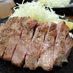 キセキ食堂 - キセキ定食・ステーキ(1,000円)