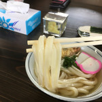 本格手打 麺の蔵 - ぷにぷにしてる太麺