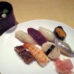寿し きしもと - 日替わり寿司定食(平日のお昼限定 16食)