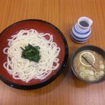 鴨錦 - 料理写真:つけ鴨うどん 並680円