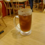 73203635 - と、言うことで、久々に「大衆酒場 北海 神田店」へ足を運び、まずはキリッとした飲みくちの「烏龍茶」300円をオーダー。