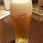 マルヤママッシュルーム - スーパードライ 550円