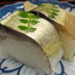 73205402 - 鯖寿司セット1000円・鯖寿司
