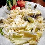 伍味酉 - ポテトサラダなごのみせ風(卓上で混ぜました)