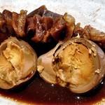 伍味酉 - 「味噌おでん5種盛り合わせ」の卵