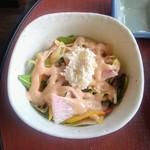 73207396 - 「天ぷら膳」のサラダ