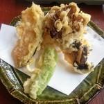 73207400 - 「天ぷら膳」の天ぷら第二段