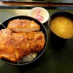 青い塔 - ロースかつ丼1000円