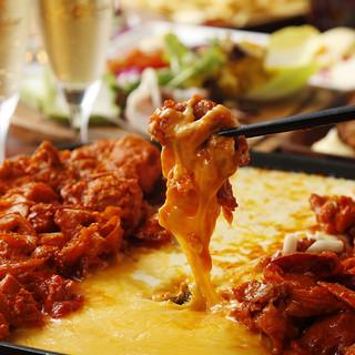 韓国で話題沸騰中のチーズタッカルビ!