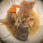 おばんざい お酒処 こもり - 牛スジ豆腐