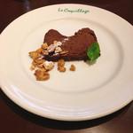 フレンチカフェレストラン 神楽坂 ル コキヤージュ - デザート 世界最高峰のヴェローナのチョコレートテリーヌ