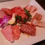 薩摩 牛の蔵 梅新店 - 牛の蔵ランチのお肉
