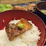 越後屋平次 - 豊熟もち豚バラ黒胡椒焼き定食