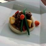 ステーキ&シーフード ボストン - 牛スジのシチューボストンスタイル