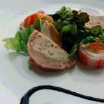 ステーキ&シーフード ボストン - 前菜のアップ