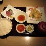 和食ダイニング まぐろ問屋 十代目彌左エ門 - 天ぷら膳
