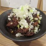 73214409 - 「もつ煮豆腐」(¥400)
