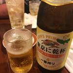 広州市場 - 広州市場五反田本店(瓶ビール)