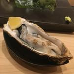 不動前 すし 岩澤 - 仙鳳趾の生牡蠣