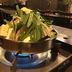 九州居酒屋ふうり - モツ鍋