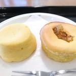 73217142 - チーズケーキ2種
