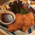 鶏みょうが屋 - 刀根鶏のチキンカツ