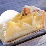 あおい - 料理写真:りんごときんかんのクリームチーズタルト