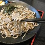 食事処 あづま - 蕎麦アップ