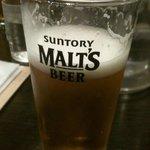 7322874 - ビールはモルツでした。