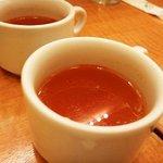 京の洋食工房 MOLLette - コンソメスープ