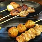 こきんた - 焼き鳥 タレセット 5本盛