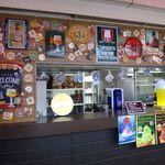 スカイビューフードコート池袋屋上ビアガーデン東武 - 新しく出来たビアガーデン用のカウンター