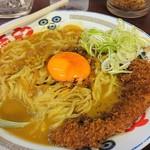 らー麺や - カツカレー