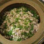 日本料理 太月 - 29年7月 佐渡アラ土鍋御飯
