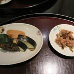 日本料理 太月 - 29年7月 おかか昆布、お新香
