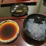日本料理 太月 - 29年7月 葛切り