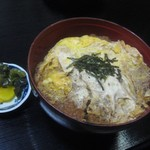 居酒屋「大漁」 - かつ丼