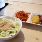 ブルームーン ダイナー - 新鮮野菜です。