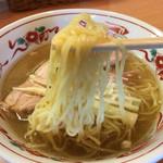 中華そば 呵呵 - 細麺は760円 太麺仕様は+50円で810円