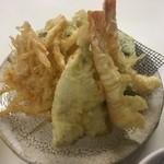 天ぷら定食ふじしま - 天ぷら9品