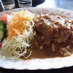 カフェ&レストラン メリーポピンズ - ハンバーグカレー