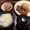 博多もつ鍋 やまや - 料理写真:生姜焼き定食