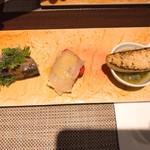 73230608 - 魚の前菜(^_^)