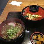 こまどりうどん - 料理写真:カツ丼ミニそばセット