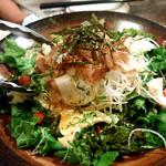 73233108 - 豆腐と大根のサラダ