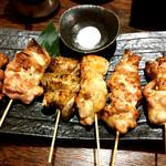 73233120 - 大山鶏串焼き