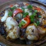坤記煲仔小菜 - 料理写真:煲仔飯(白鱔飯/HKD95)