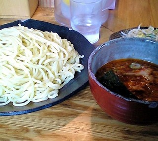 つけ麺屋 やすべえ 高田馬場店  - つけ麺屋 やすべえ@高田馬場 辛味つけ麺・大盛